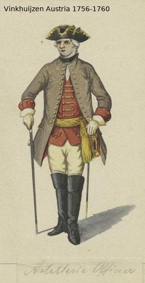 Austrian Uniforms Vinkhuijzen collection NYPL Vinkhu86
