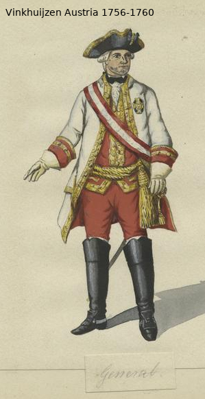 Austrian Uniforms Vinkhuijzen collection NYPL Vinkhu91