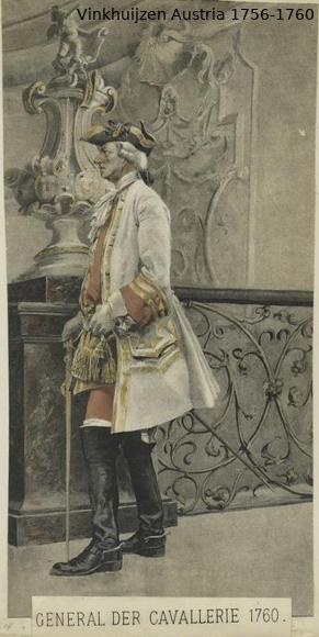 Austrian Uniforms Vinkhuijzen collection NYPL Vinkhu92