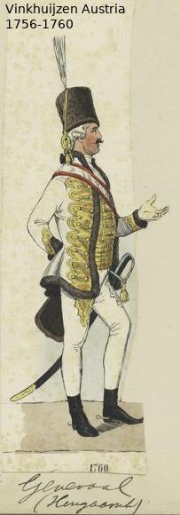 Austrian Uniforms Vinkhuijzen collection NYPL Vinkhu94