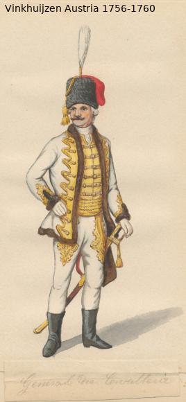 Austrian Uniforms Vinkhuijzen collection NYPL Vinkhu95