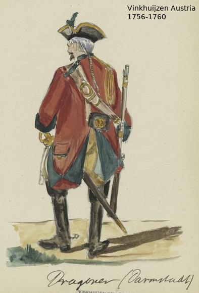 Austrian Uniforms Vinkhuijzen collection NYPL Vinkhu98