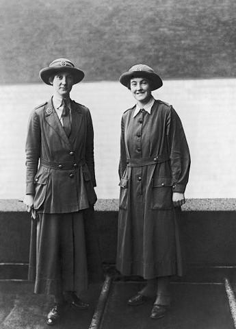 WWI uniforms Waac-w10