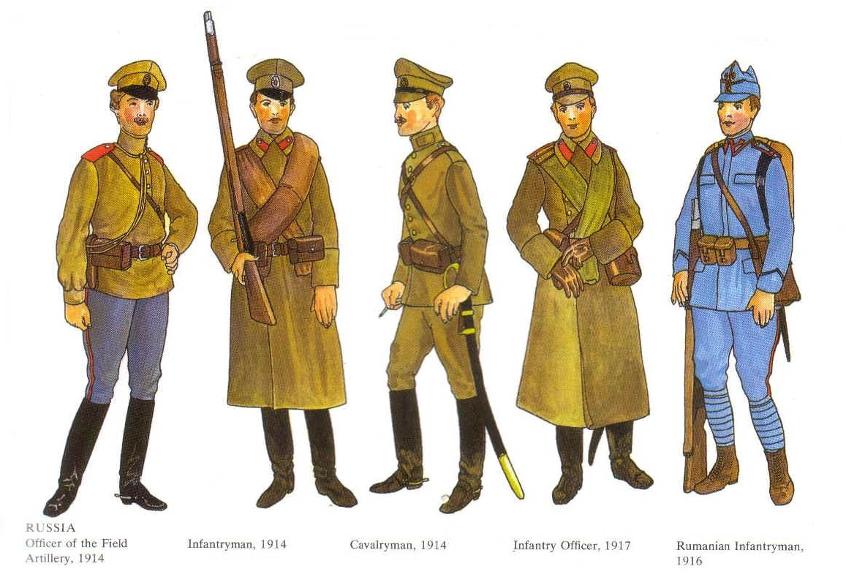WWI uniforms Ww1-4a10