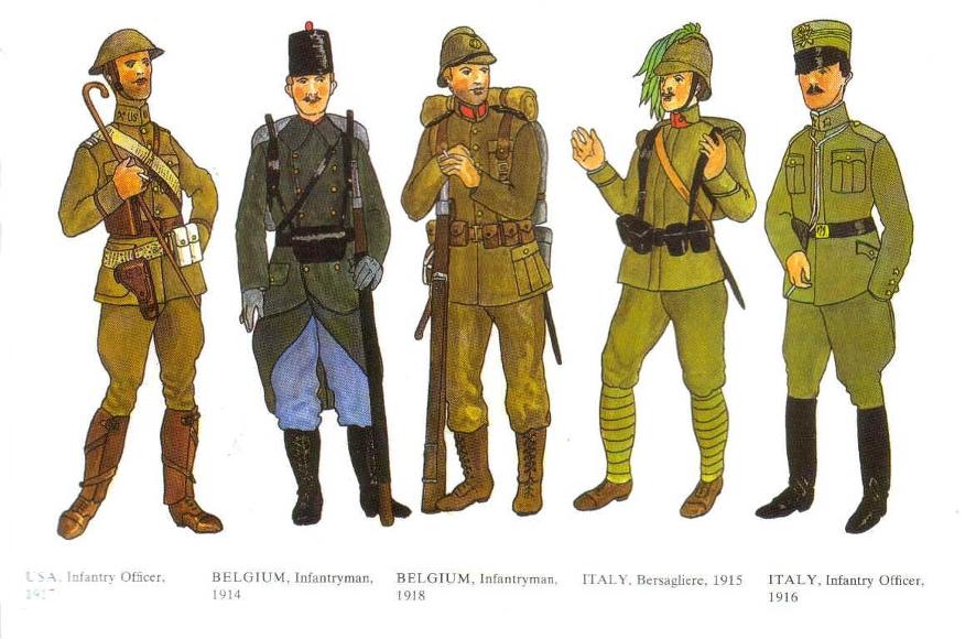WWI uniforms Ww1-4b10