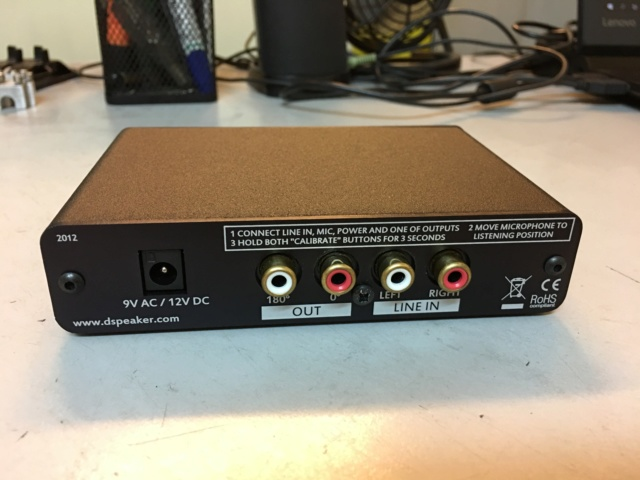 DSPeaker Anti-Mode 8033S-II Automatic Subwoofer Equalizer (Used) Sold Img_8518