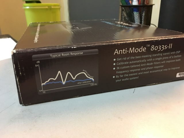 DSPeaker Anti-Mode 8033S-II Automatic Subwoofer Equalizer (Used) Sold Img_8519