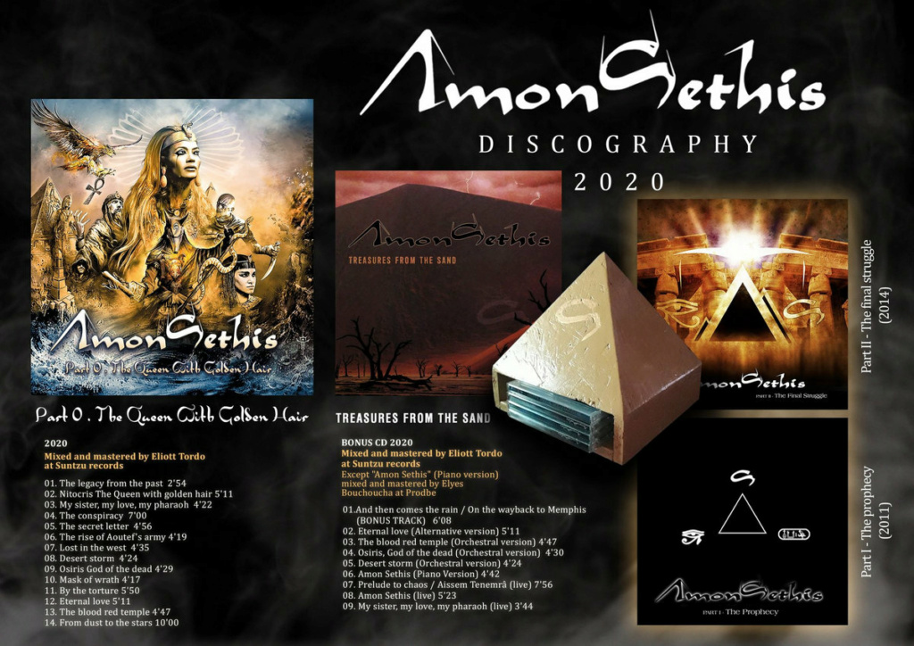 "[Prog] AMON-SETHIS ""Part 0 - The Queen With Golden Hair, "" 00224810"