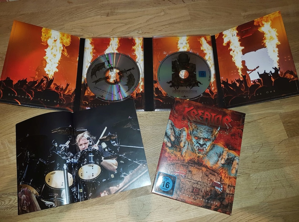 "KREATOR  ""London Apocalypticon - Live At The Roundhouse""  (FEV 2020) 10169211"