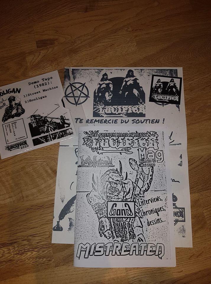 """nouveau mag de LUCIFER hard rock metal francais""""dispo 10258310"""