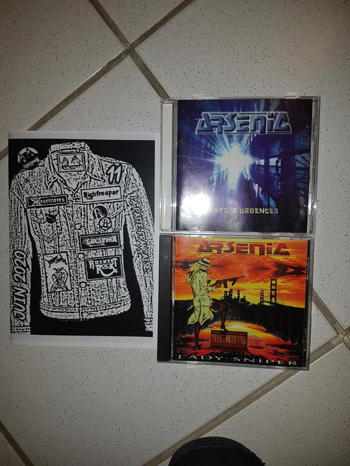"""nouveau mag de LUCIFER hard rock metal francais""""dispo 11657310"""