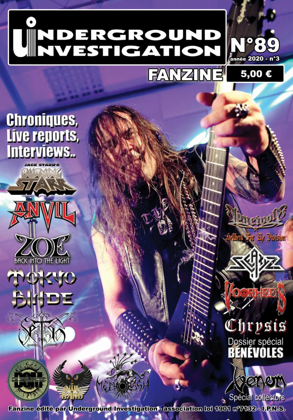 Le fanzine UNDERGROUND INVESTIGATION - Page 2 13076610
