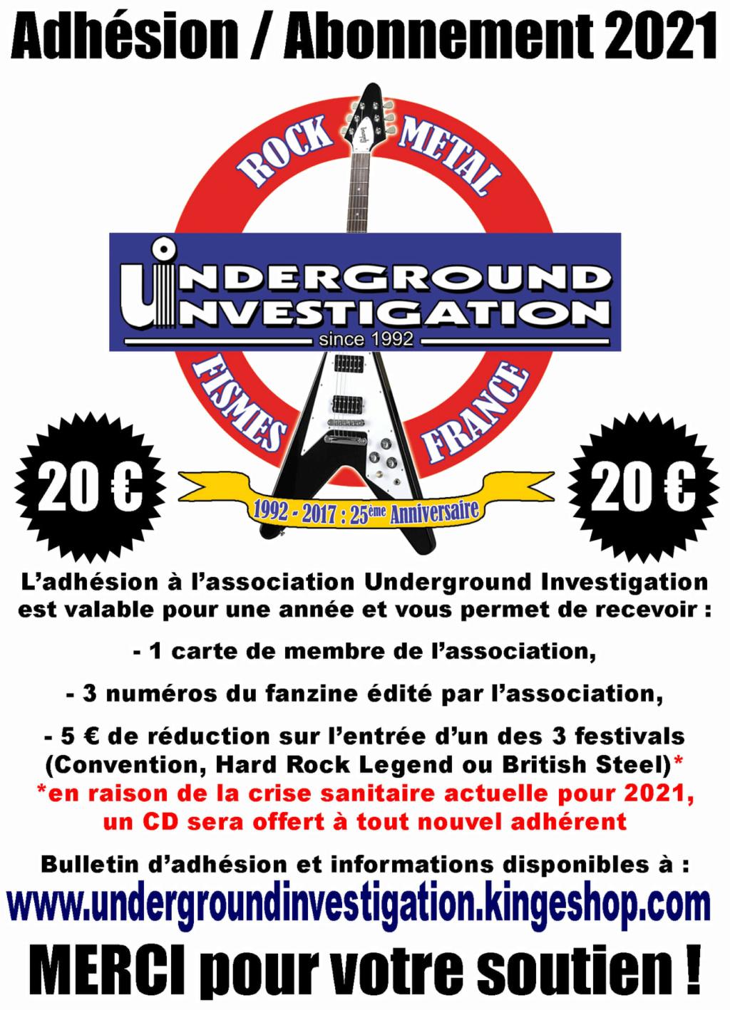 Le fanzine UNDERGROUND INVESTIGATION - Page 2 13138410