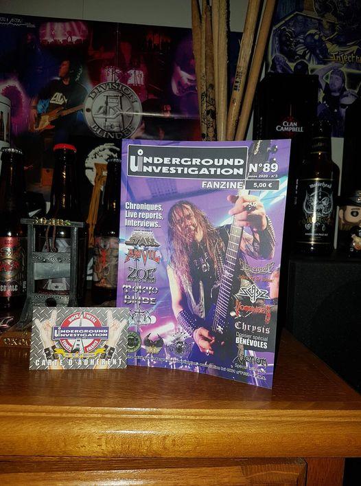 Le fanzine UNDERGROUND INVESTIGATION - Page 2 14184410