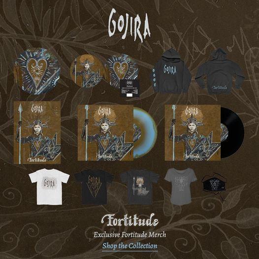"GOJIRA ""fortitude"" avril 2021 15317210"