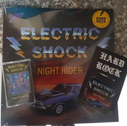 ELECTRIC SHOCK (Hard rock, Grenoble) - Nouveau maxi 45 tours ! 16505010