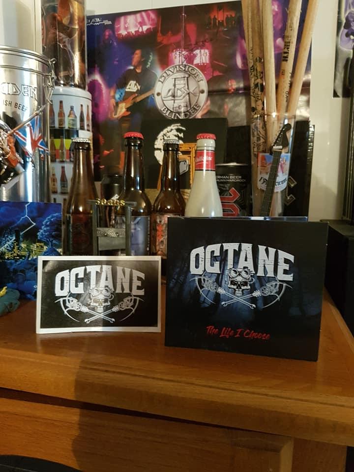 "OCTANE ""the life i choose""avril 2021 heavy rock 18276011"