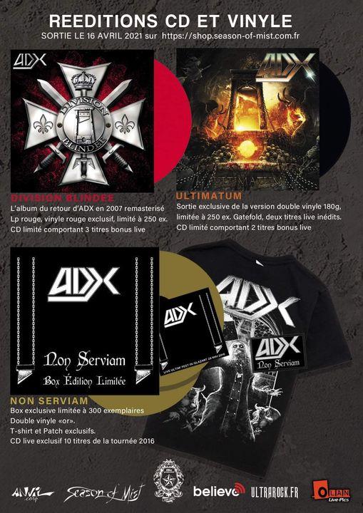 réédition vinyles ADX season of mist  mai 2021 18426110