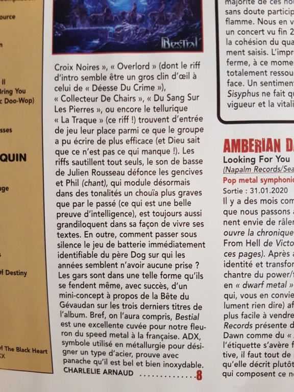 "ADX ""Bestial ""janvier 2020 - Page 2 20200111"