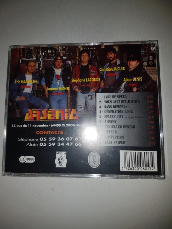ARSENIC  originaire de pau (france) hard rock/ speed métal 20200812