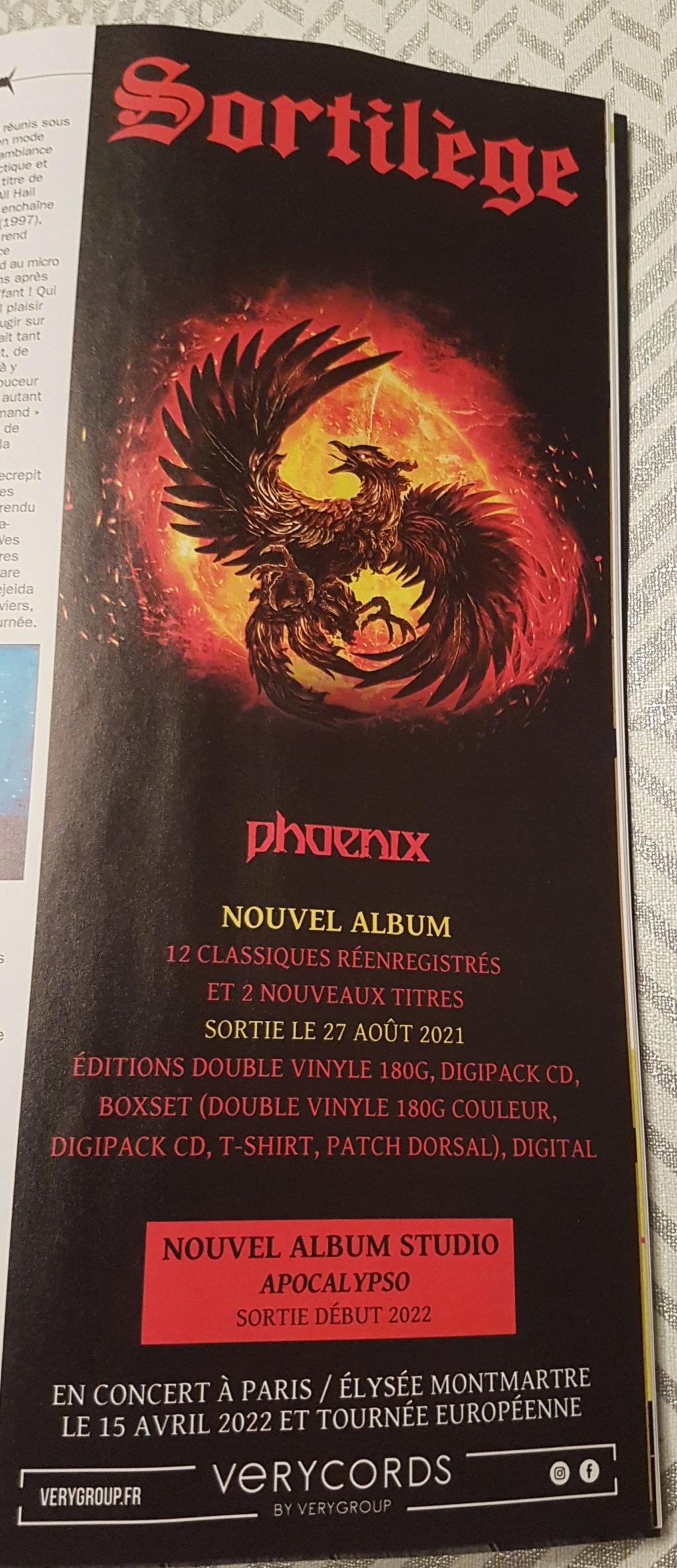 "SORTILEGE - ""phoenix"" aout 2021 20210710"