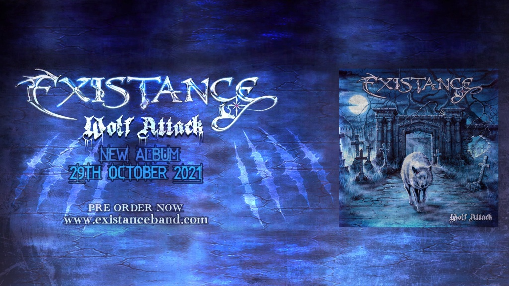 EXISTANCE (Heavy Metal)  Wolf Attack, le 29 Octobre 2021  20420310