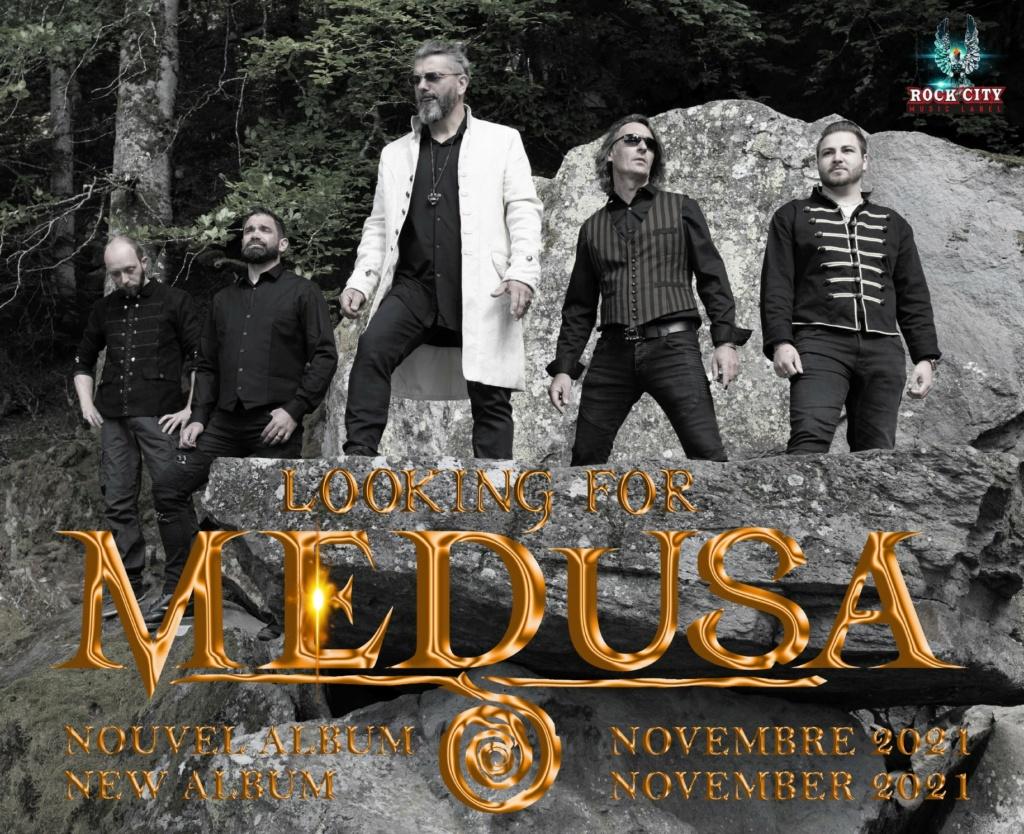 """looking for médusa """" erzebeth"""" nouveau clip 2021 rock/hard/métal 24176910"""