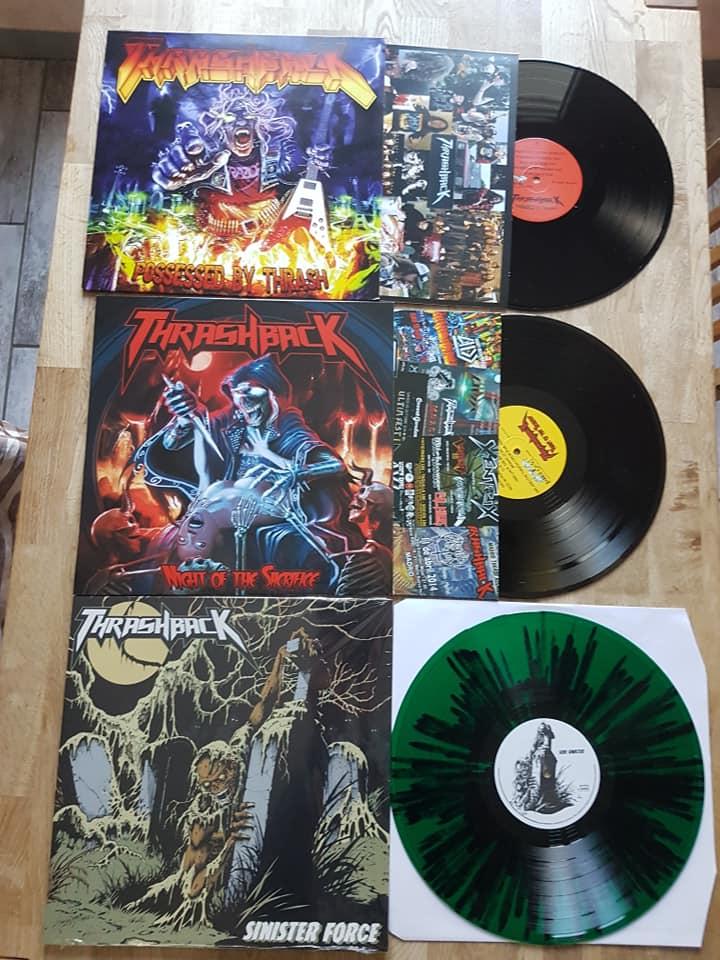 "THRASHBACK "" Sinister Force "" thrash 2018 24366110"