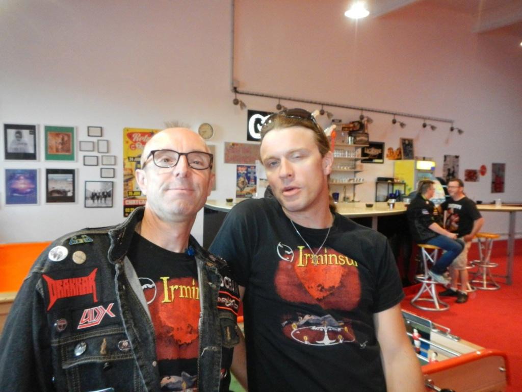 "IRMINSUL ""rock'n'roll shop"" concert charmes 22/06/18 36040211"