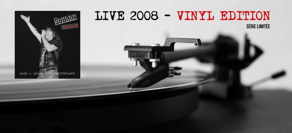 """Still Square """" live 2008 vinyl edition"""" sept 2018 40516010"""