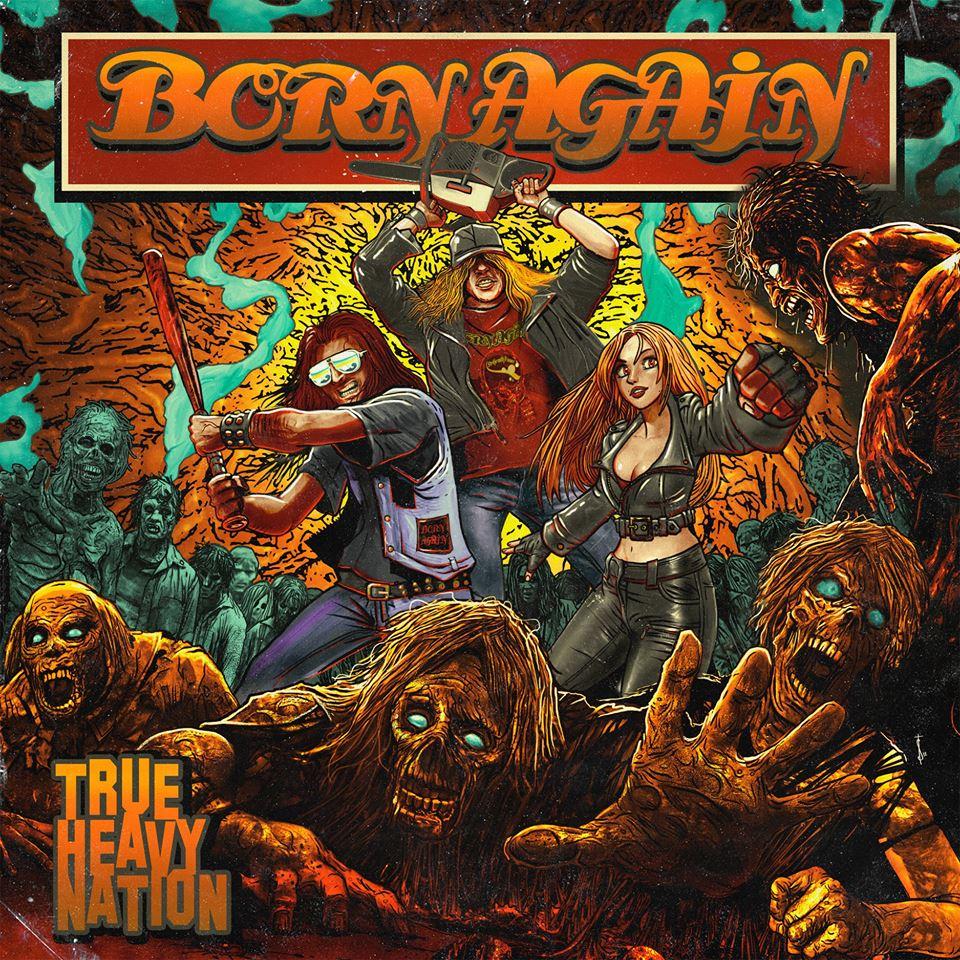 "BORN AGAIN  ""true heavy nation"" dec 2018 hard-rock métal 43165510"