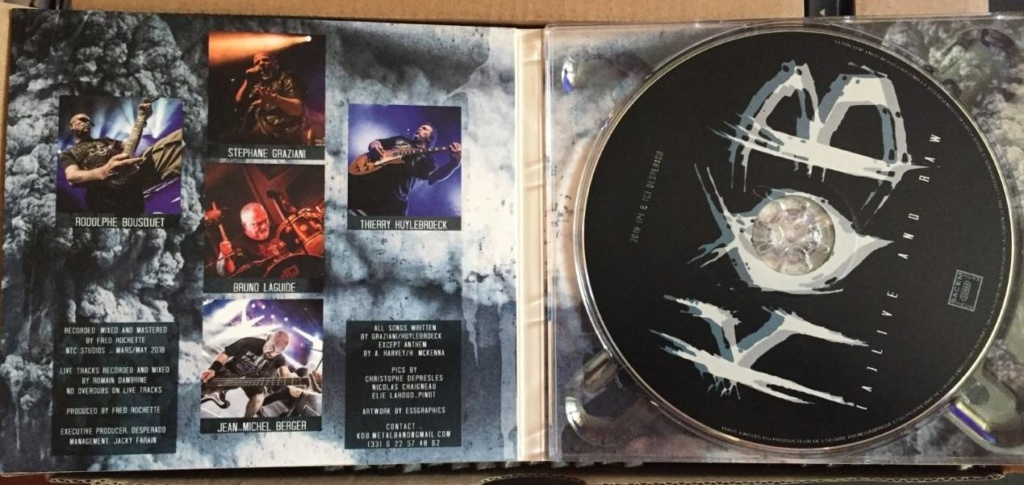 "KOB "" (A) Live And Raw "" heavy metal 2018  43952410"