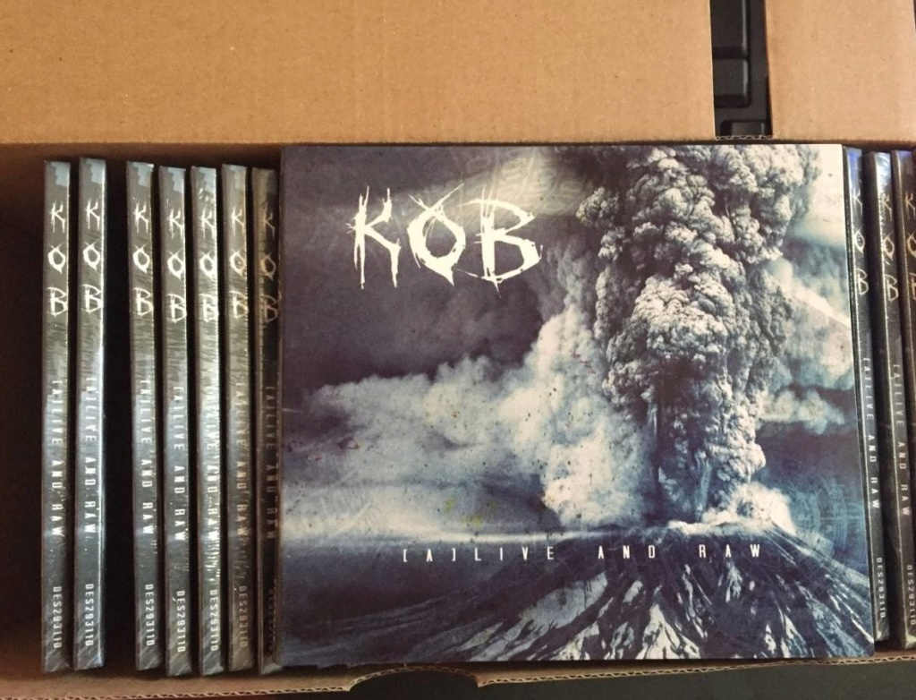 "KOB "" (A) Live And Raw "" heavy metal 2018  44108610"