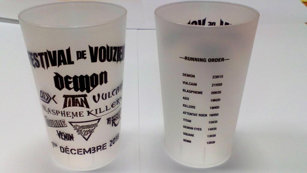 """Prochaine Affiche Festival Vouziers 2018  """"french métal"""" 44707110"""