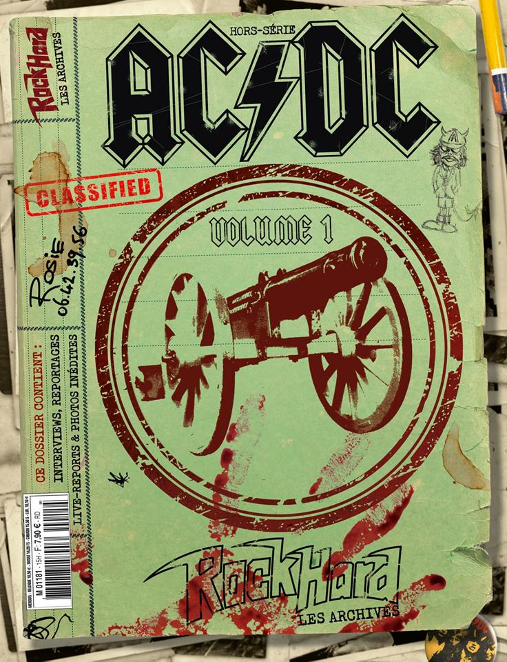 "hors serie rock hard magazine ""AC/DC""nov 2018 46352910"
