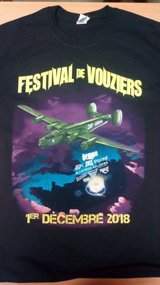 """Prochaine Affiche Festival Vouziers 2018  """"french métal"""" 46523910"""