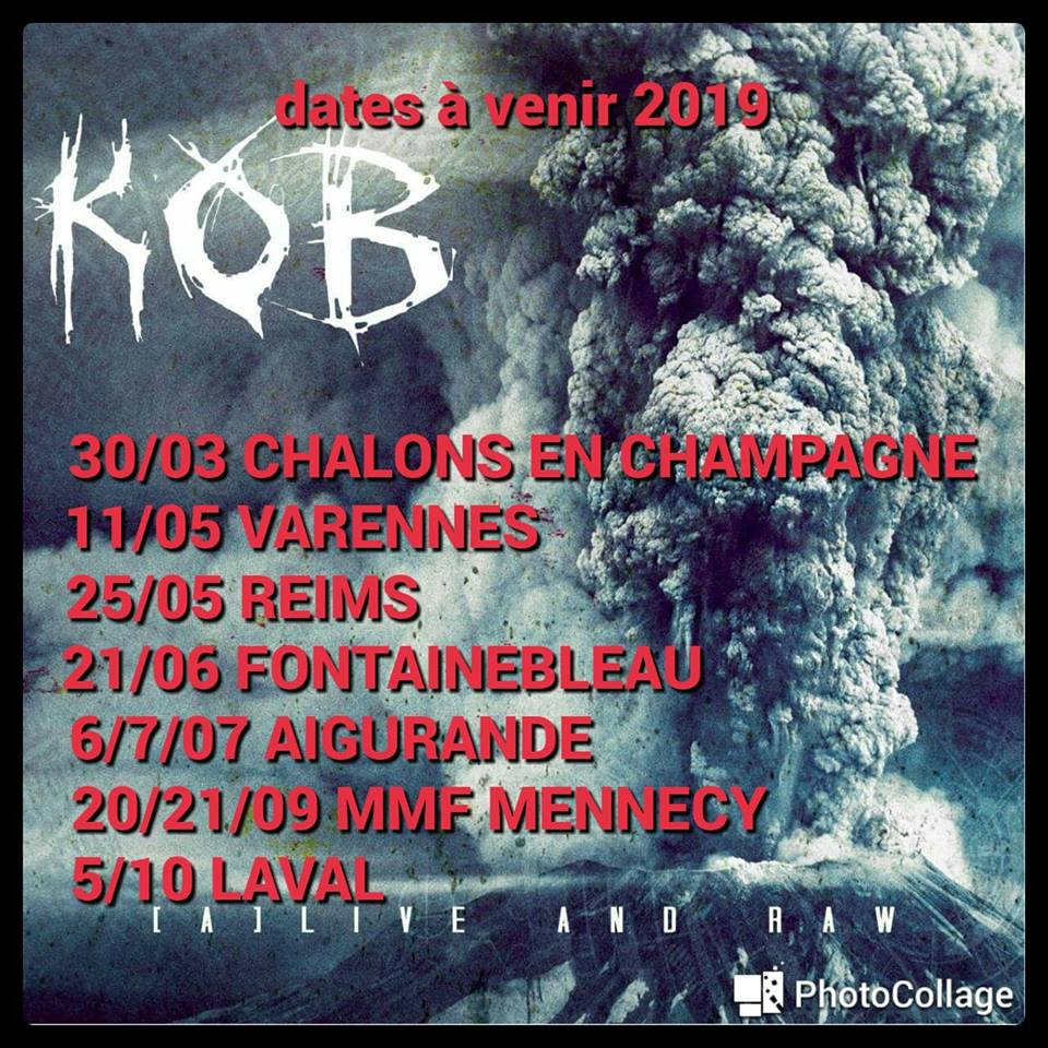 "KOB "" (A) Live And Raw "" heavy metal 2018  48058810"