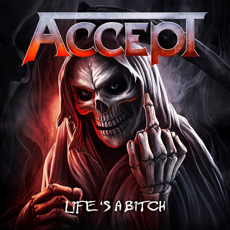 "Accept ""Life's a Bitch"" single avril 2019 53100410"