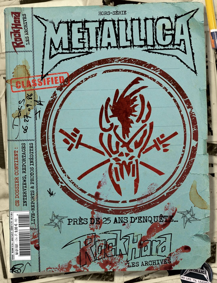 "METALLICA archive mag ""Rock Hard""hors serie  59677310"