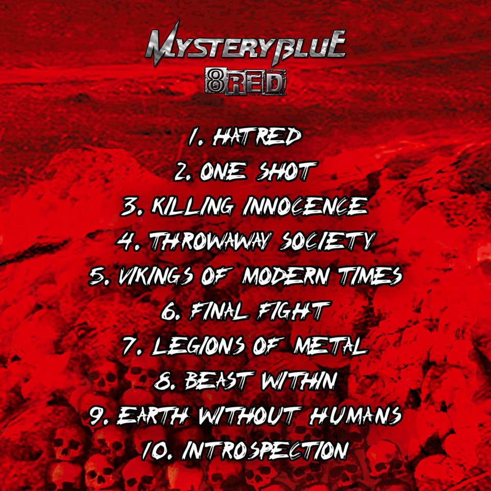 "MYSTERY BLUE ""8red""  (2019) 66764010"