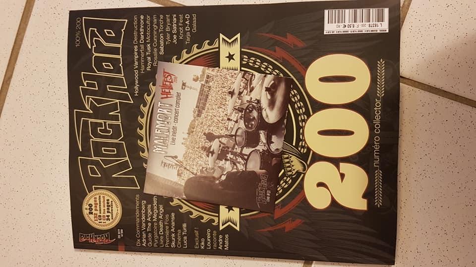 200 éme mag ROCK HARD numéro spécial 2 sampler 67082310