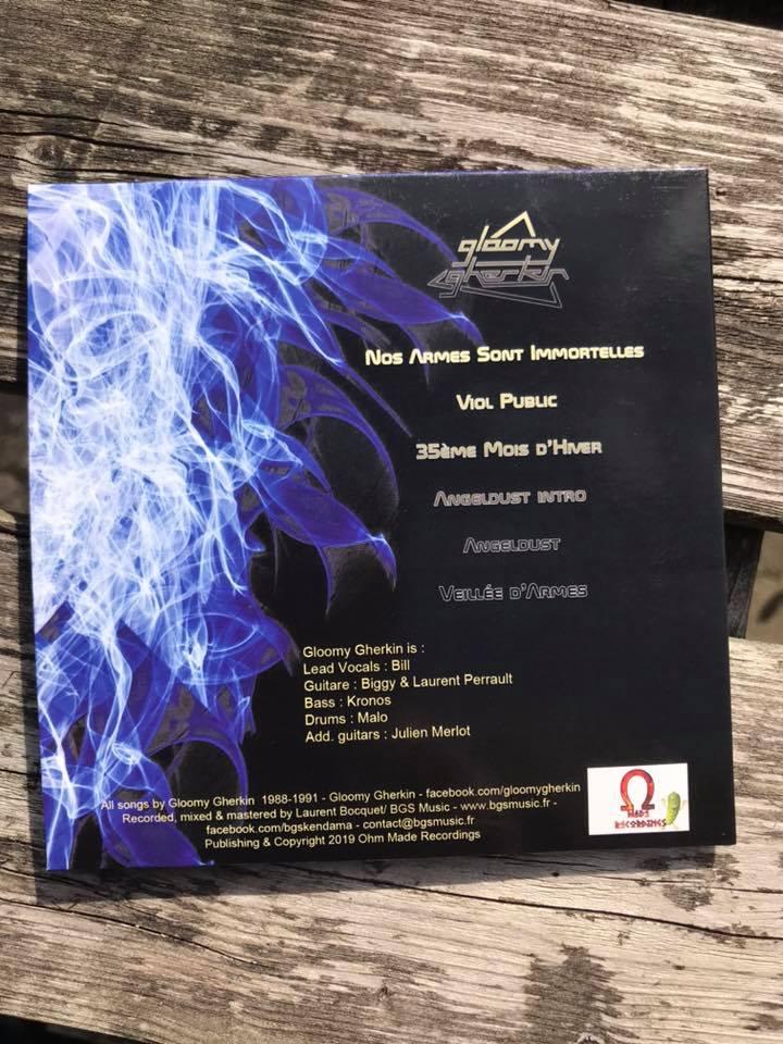 "GLOOMY GHERKIN EP ""angeldust""6 titres hard rock 2019 68717410"