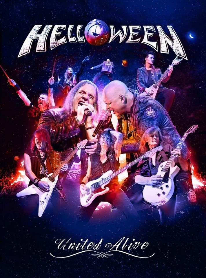 "HELLOWEEN    ""United Alive""  (DVD/Blu-ray - 2019)  68749010"