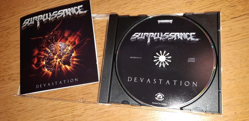 "Surpuissance ""Dévastation"" thrash heavy métal 2019 69969710"