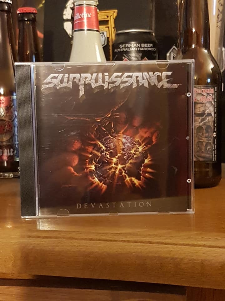 "Surpuissance ""Dévastation"" thrash heavy métal 2019 71957211"