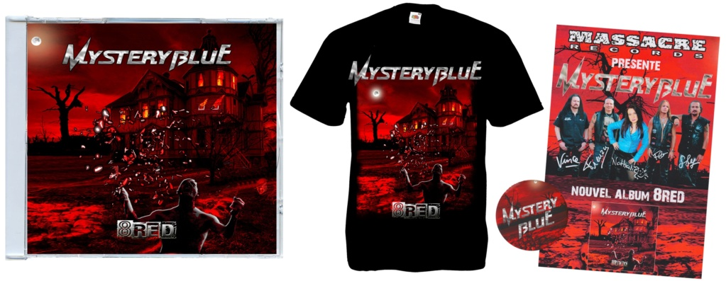 """MYSTERY BLUE """"8red""""  (2019) 73341310"""