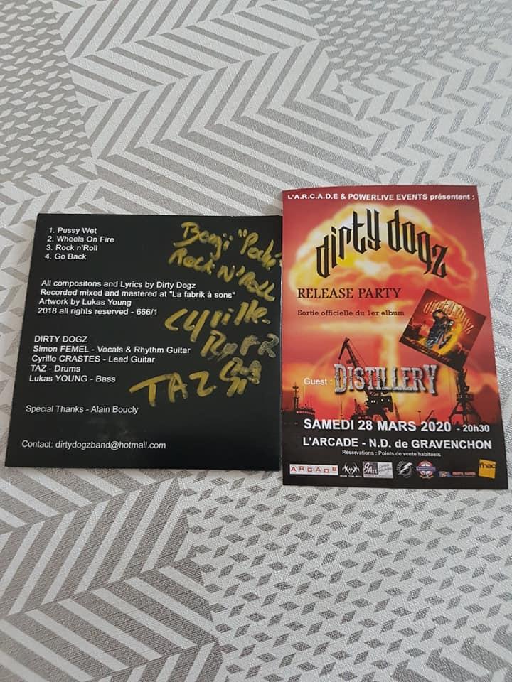 Dirty Dogz  groupe rock'n'roll (ac/dc) region Havre france 84999710