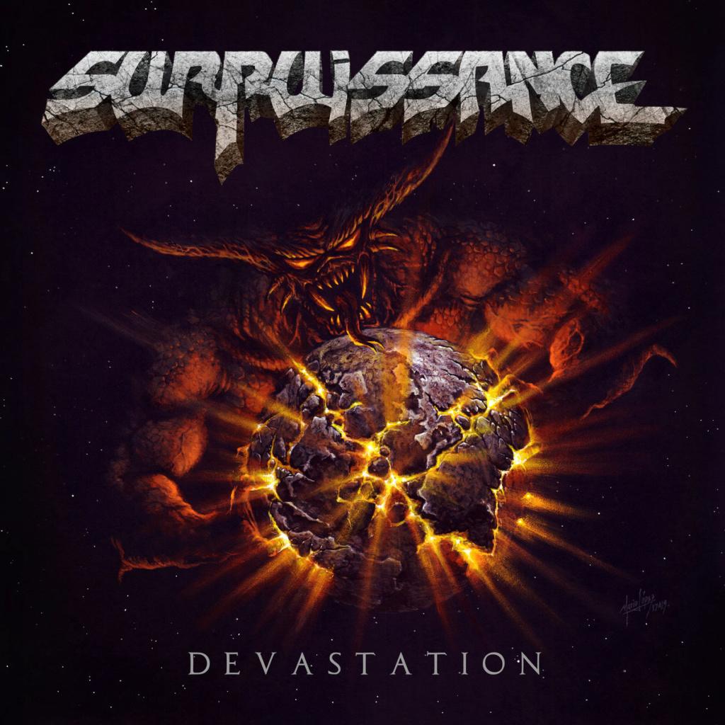 "Surpuissance ""Dévastation"" thrash heavy métal 2019 A0684110"
