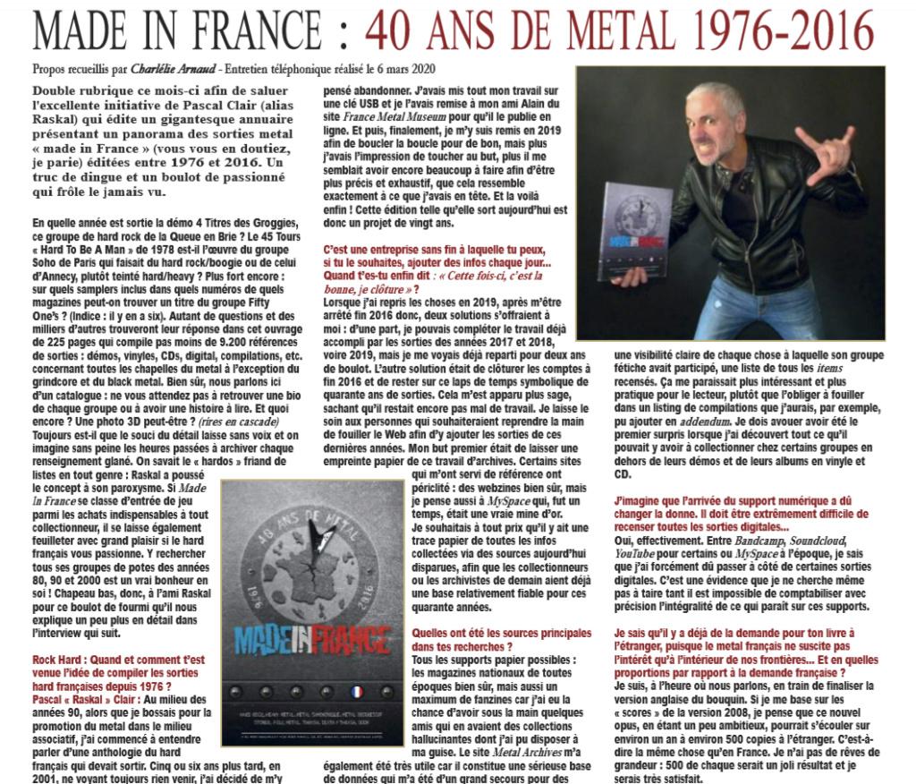 livre anthologie par Pascal Clair Rascal 2020 Captur12