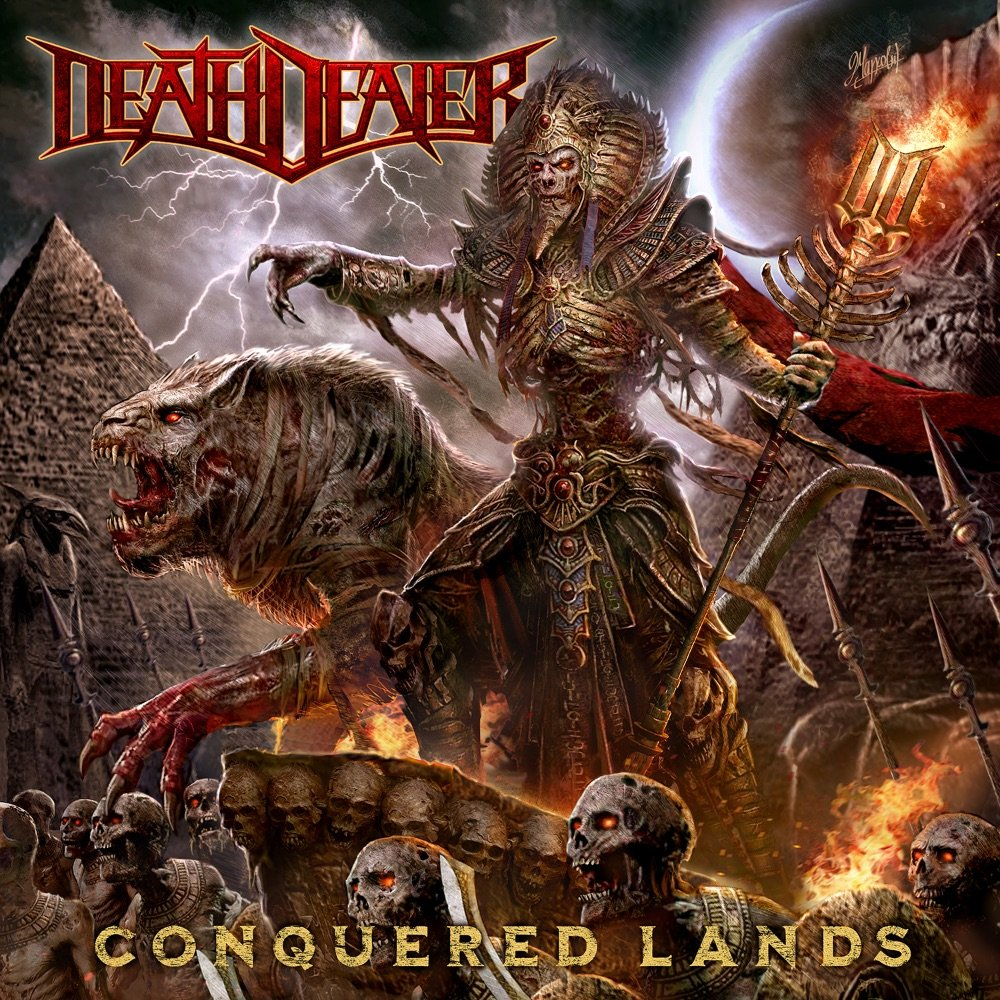 "DEATH DEALER ""conquered lands"" 2020 power metal Ch48vz10"